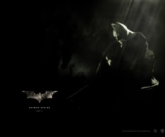 Batman Alone Black Poster Wallpaper