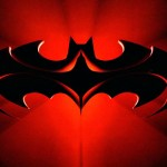 Batman And Robin Logo Red Wallpaper