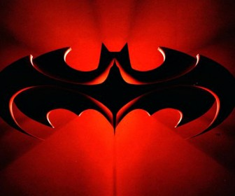 Batman And Robin Logo Red Wallpaper