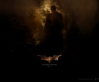 Batman Begins June 17 Poster Wallpaper