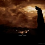 Batman Clouds Background Poster Wallpaper