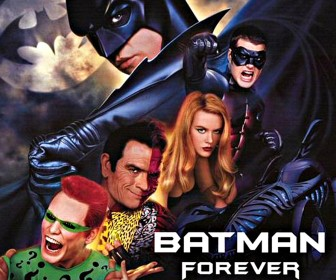 Batman Forever Characters Collage Wallpaper