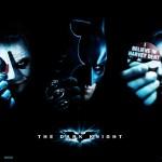 Batman Harvey Joker Faces Poster Wallpaper