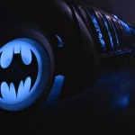 Batman Logo On Batmobile Wheels Wallpaper