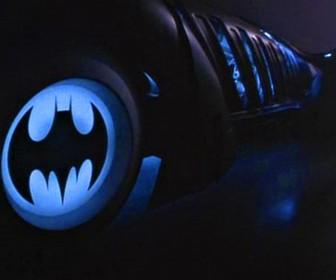 Batman Logo On Batmobile Wheels Wallpaper