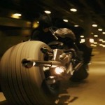 Batman Riding Fast On Motorcycle Wallpaper