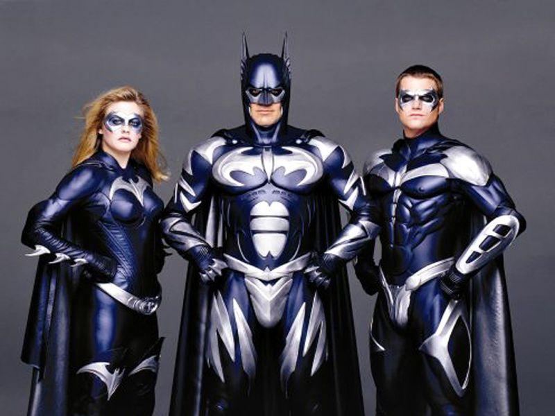 Batman Robin Batgirl Portrait Wallpaper 800x600