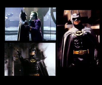 Batman Screenshots Collage Wallpaper