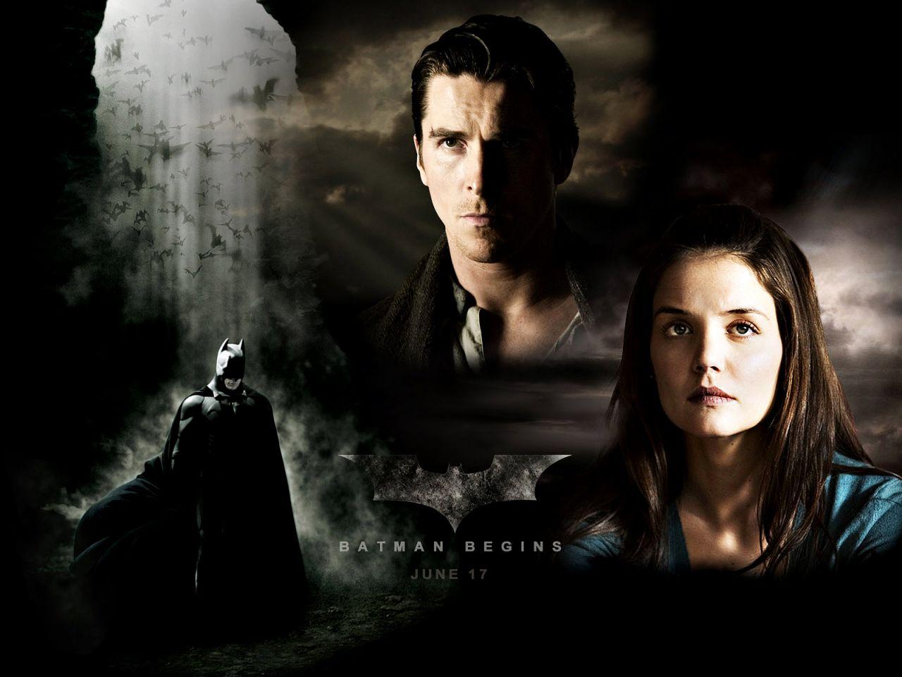 Bruce Rachel Batman Poster Wallpaper 1280x960