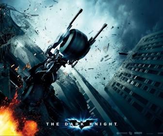 Dark Knight Motorcycle Poster Wallpaper