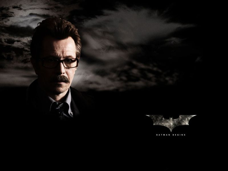 Gary Oldman Jim Gordon Poster Wallpaper 800x600