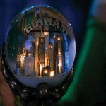 Gotham City Snowglobe Wallpaper