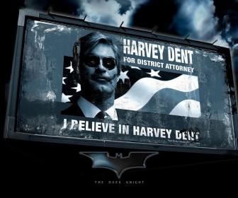 Harvey Dent Billboard Wallpaper