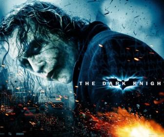 Heath Ledger Dark Knight Poster Wallpaper