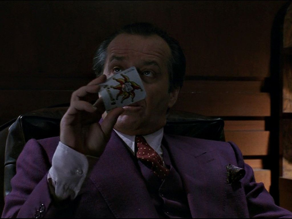 Jack Nicholson As The Joker Wallpaper 1024x768
