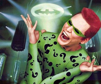 Jim Carrey As The Riddler Wallpaper