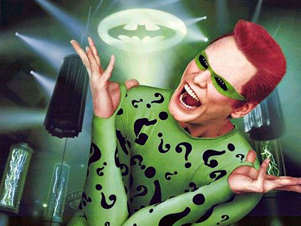 Jim Carrey As The Riddler Wallpaper 1024x768