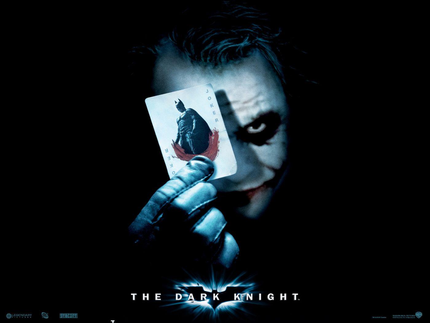 Joker Batman Card Poster Wallpaper 1400x1050