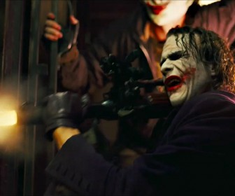 Joker Fires Bazooka Wallpaper