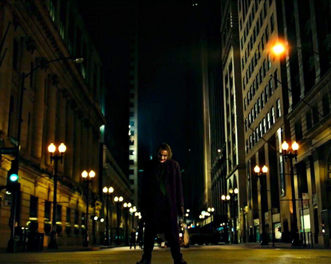 Joker In The Street Wallpaper 1280x1024