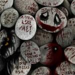Joker Quotes On Rocks Wallpaper