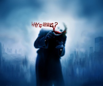 Joker Why So Serious Wallpaper