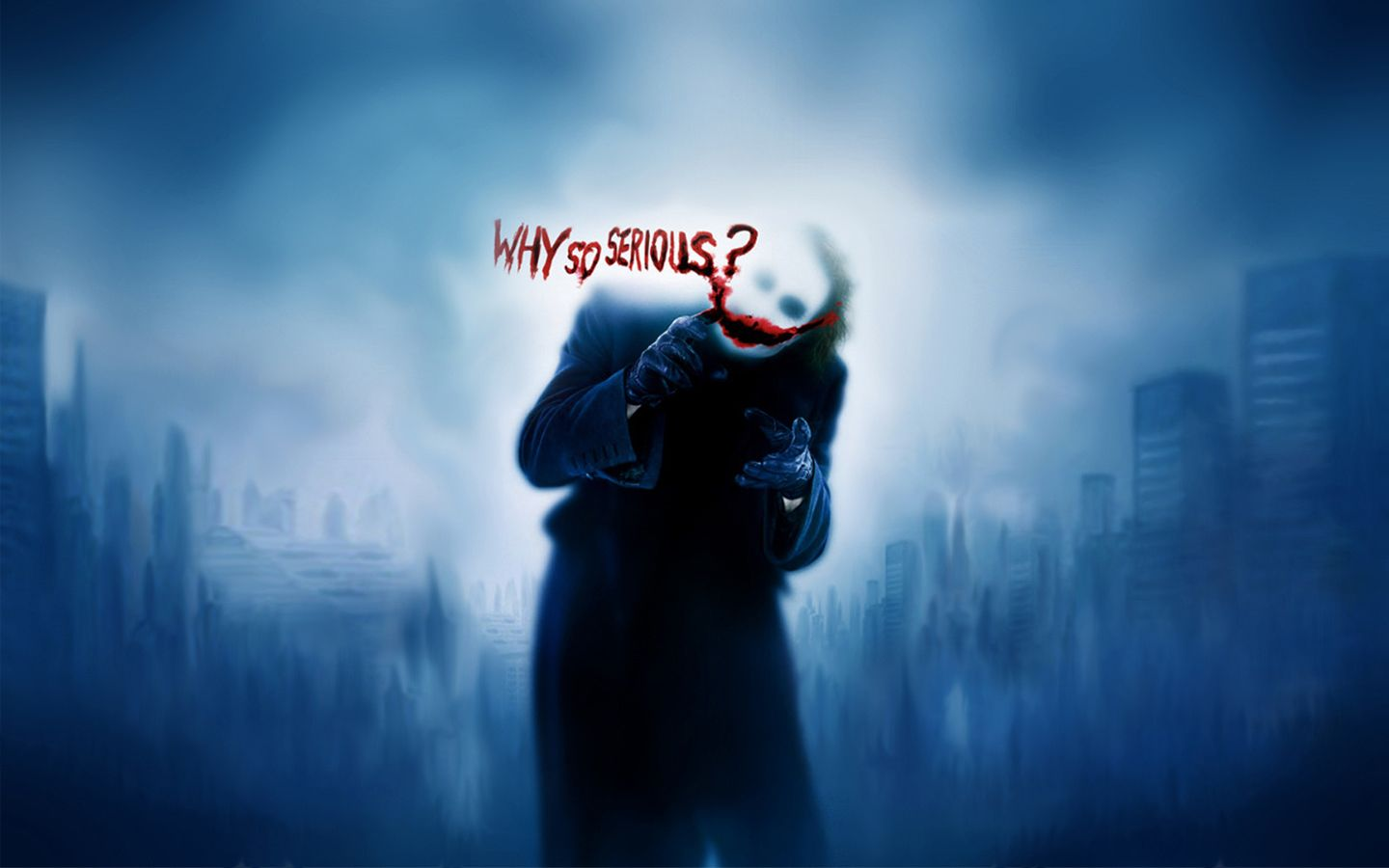 Joker Why So Serious Wallpaper 1440x900