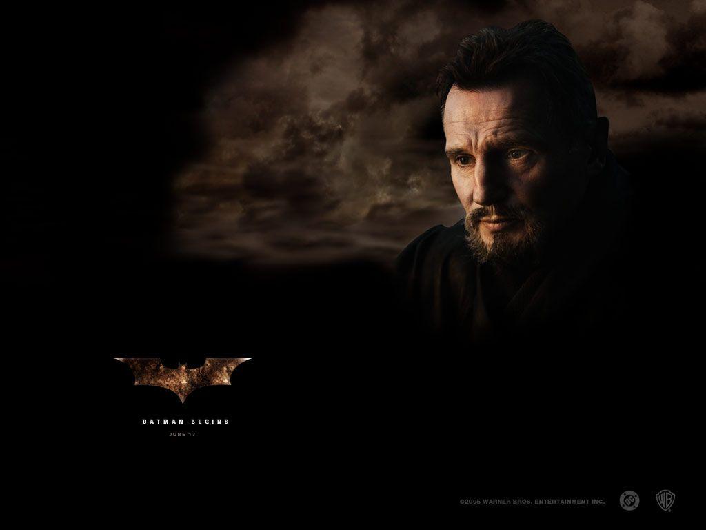 Liam Neeson Henri Ducard Poster Wallpaper 1024x768