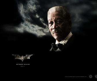 Morgan Freeman Lucius Fox Poster Wallpaper