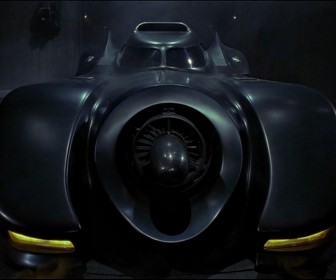 The Batmobile Front Wallpaper