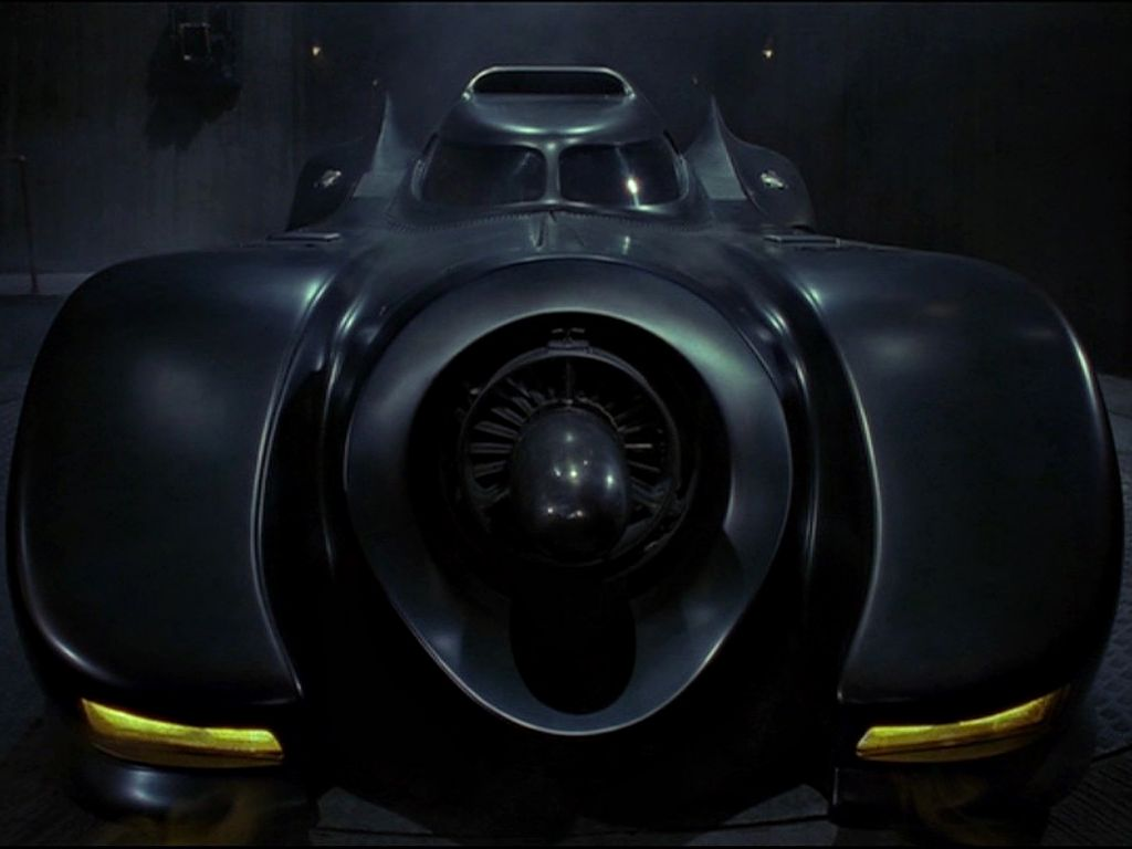 The Batmobile Front Wallpaper 1024x768