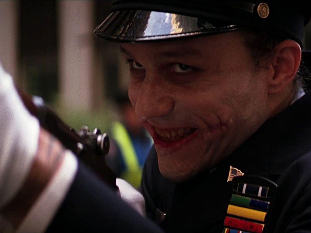 The Joker As Gotham Cop Wallpaper 1024x768