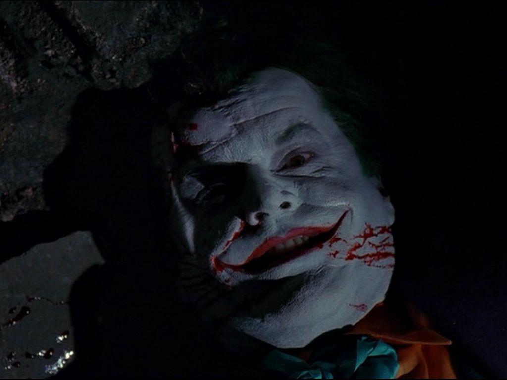 The Joker Dead With Smile Wallpaper 1024x768