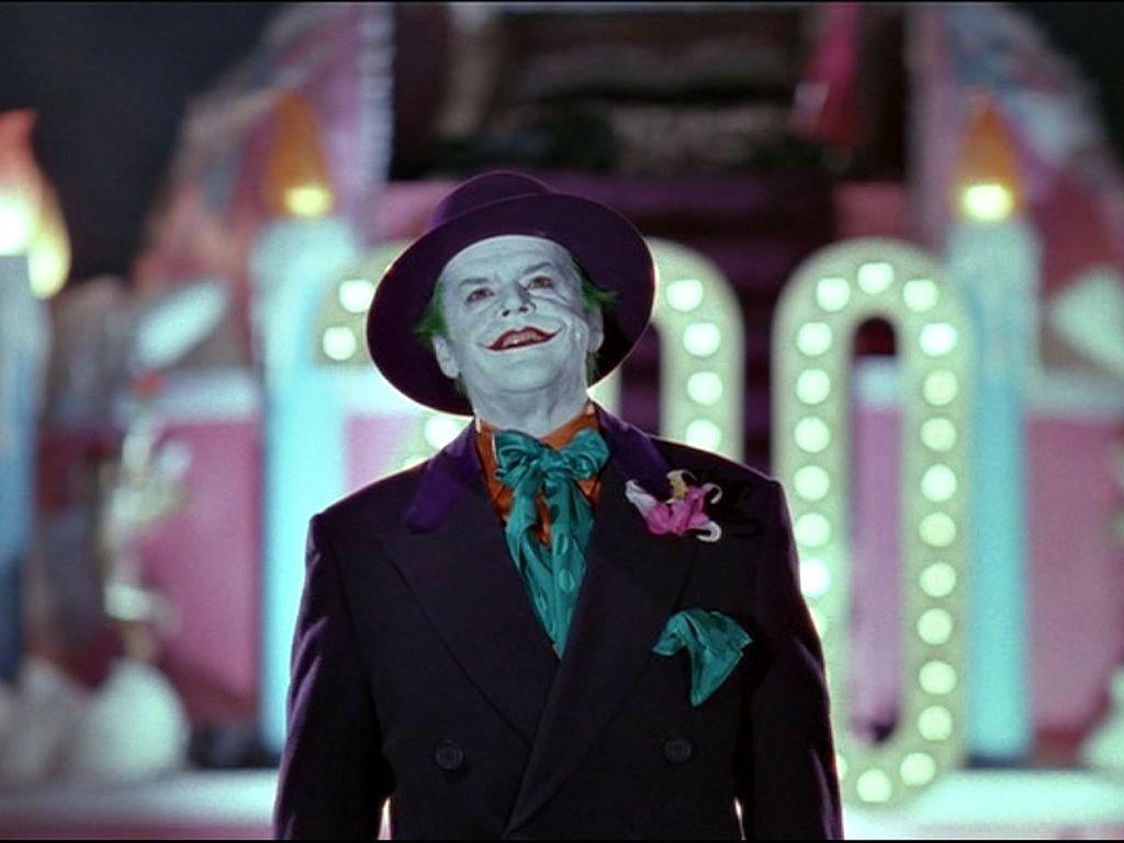 The Joker In Purple Suit Wallpaper 1024x768