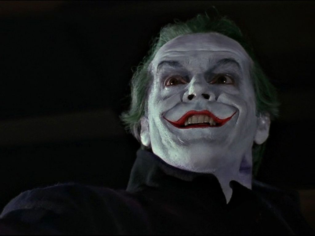 The Joker Smiling Portrait Wallpaper 1024x768